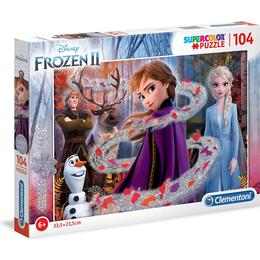 Clementoni Supercolour Disney Frozen 2 Glitter 104 Pieces
