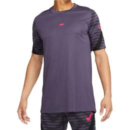 Nike Dri-FIT Strike Short-Sleeve Football Top Men - Dark Raisin/Black/Black/Siren Red