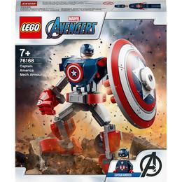 Lego Marvel Captain America Mech Armour 76168