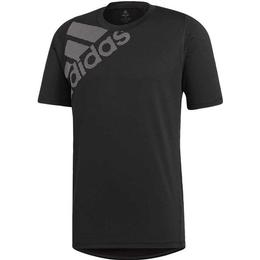 Adidas Freelift Badge of Sport Graphic T-shirt Men - Black