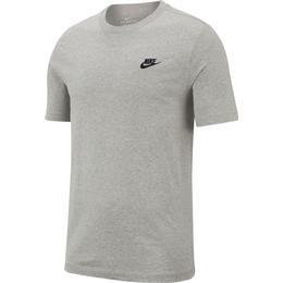 Nike Sportswear Club T-shirt - Dark Grey Heather/Black