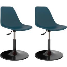 vidaXL 45x87cm 2-pack Kitchen Chair
