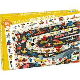 Djeco Observation Poster Rally 54 Pieces