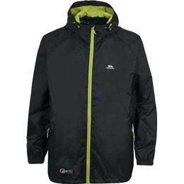 Trespass Kid's Qikpac Packaway Waterproof Jacket - Black