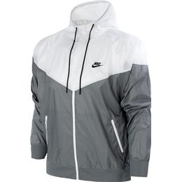 Nike Windrunner Hooded Jacket Men - Smoke Grey/White/Smoke Grey/Black