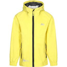 Trespass Kid's Qikpac Packaway Waterproof Jacket - Yellow