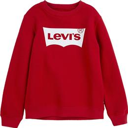 Levi's Kid's Batwing Crewneck - Red/White/Multi Colour