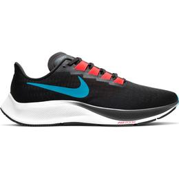 Nike Air Zoom Pegasus 37 M - Off Noir/Bright Crimson/Black/Light Blue Fury