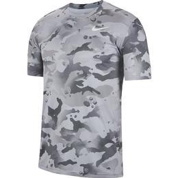 Nike Dri-FIT Camo Training T-Shirt Men - Grey