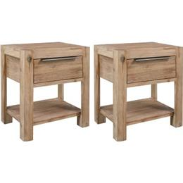 vidaXL 3057529 2-pack Bedside Tables
