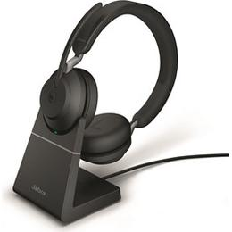 Jabra Evolve2 65 UC Stereo with Stand