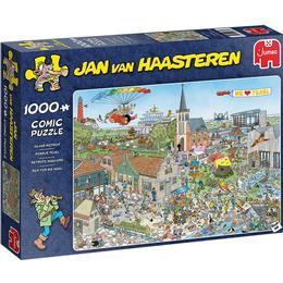 Jumbo Jan Van Haasteren Island Retreat 1000 Pieces