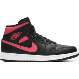 Nike Air Jordan 1 Mid W - Black/White/Siren Red