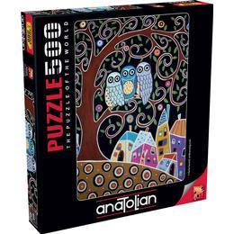 Anatolian Three Owls 500 Pieces