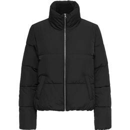 Jacqueline de Yong Erica Short Padded Jacket - Black