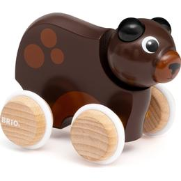 Brio Push Along Bear 30338