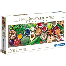 Clementoni High Quality Collection Panorama Useful Vegetables 1000 Pieces