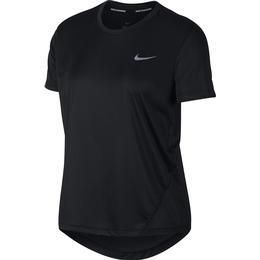 Nike Miler Short-Sleeve Running Top Women - Black