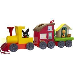 Bing Pull Along Train & Mini Playsets