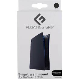 Floating Grip Playstation 5 Console Wall Mount - Black
