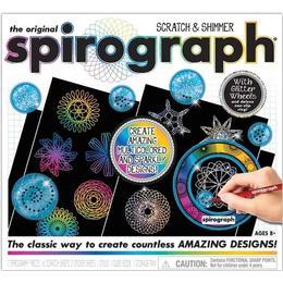 The Original Spirograph Scratch & Shimmer Set