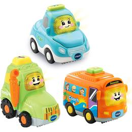 Vtech Toot Toot Drivers 3 Cars Pack Everyday Vehicles