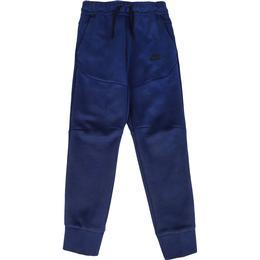 Nike Older Kid's Tech Fleece Trousers - Midnight Navy/Black (CU9213-410)