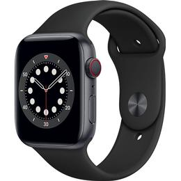 Apple Watch Series 6 Cellular 44mm Aluminium Case with Sport Band