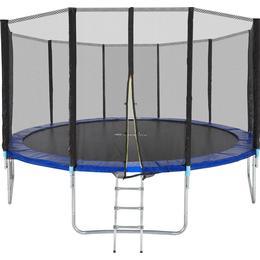 tectake Garfunky Trampoline 305cm + Safety Net + Ladder