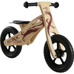 Sonic Curve Wooden Balance 12 in Bike