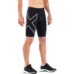 2Xu Run Compression Shorts Men - Black/Silver