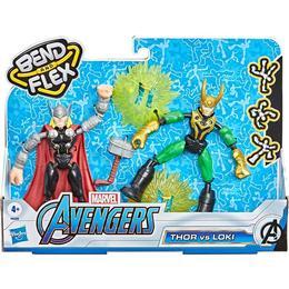 Hasbro Marvel Avengers Bend & Flex Thor Vs Loki