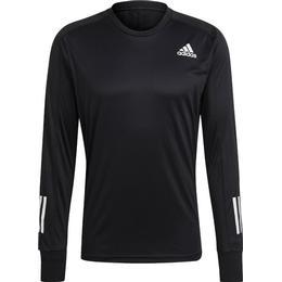 Adidas Own The Run Long Sleeve T-shirt Men - Black