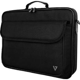 """V7 Essential Frontloading Laptop Case 16"""" - Black"""