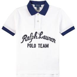 Ralph Lauren Logo Polo Shirt - White