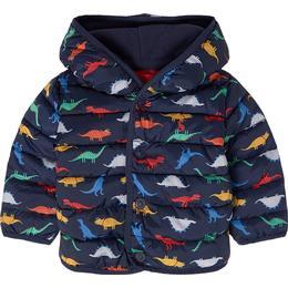 Tom Joule Jessie Dinosaur Baby Puffer Jacket - Navy Dinos (209528)