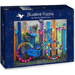 Bluebird A Beautiful Colorful Bike 1000 Pieces