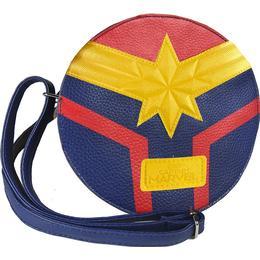 Marvel Captain Marvel Faux Leather Shoulder Bag - Blue