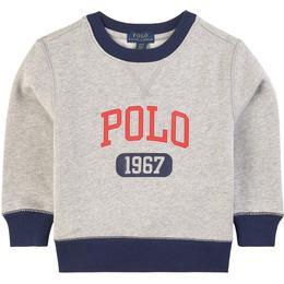 Ralph Lauren Polo Print Sweatshirt - Grey Heather