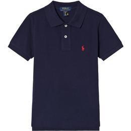 Ralph Lauren Pique Polo Shirt - Navy