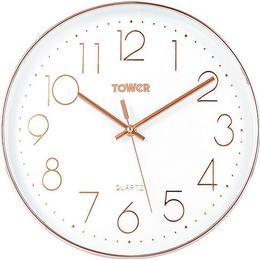 Tower PUUDM1L 30cm Wall clock