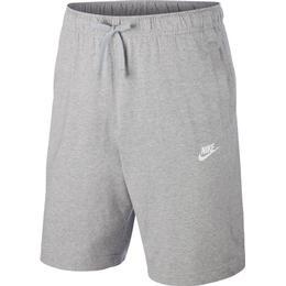 Nike Club Fleece Short - Dark Grey Heather/White