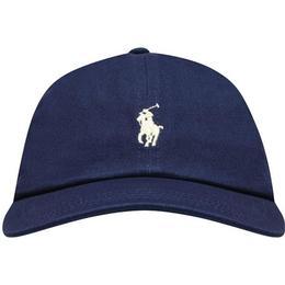 Ralph Lauren Cotton Chino Baseball Cap - Newport Navy (98385)