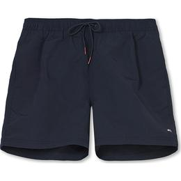 Tommy Hilfiger Solid Medium Drawstring Swim Shorts - Desert Sky