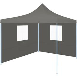 vidaXL Professional Folding Party Tent with 2 Sidewalls 2x2m