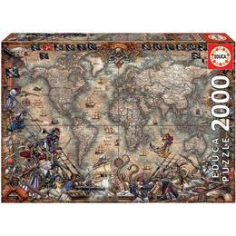 Educa Pirates Map 2000 Pieces