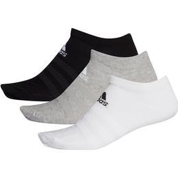 Adidas Low-Cut Socks 3-Pack - Gray Heather/White/Black