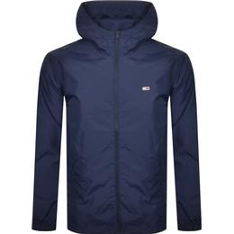 Tommy Hilfiger Recycled Nylon Packable Windbreaker - Navy
