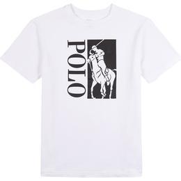 Ralph Lauren Big Pony Logo Cotton Jersey Tee - White (569354)