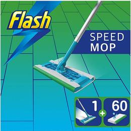 Speedmop Giga Pack with 60 Wet Mopping Cloths